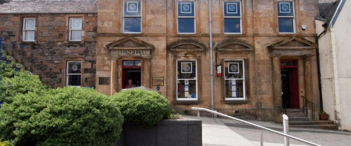 picture of west highland museum from the outside
