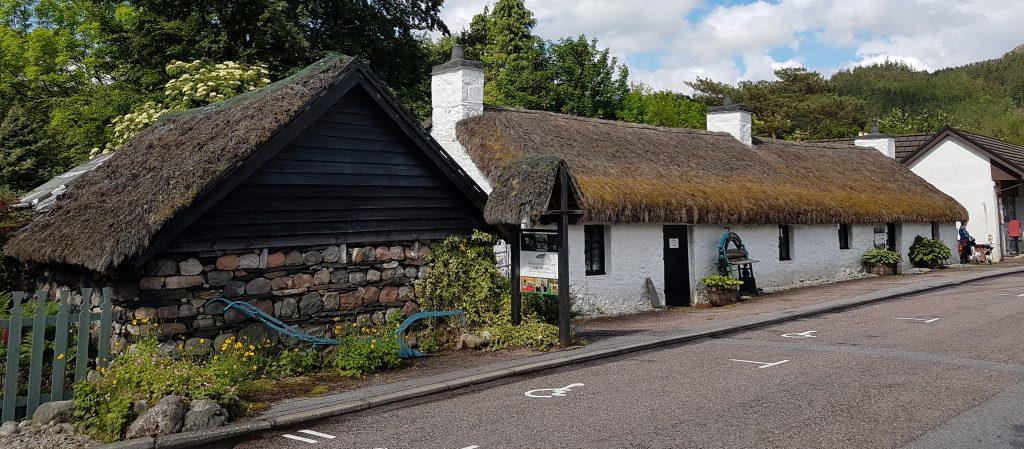 Glencoe Folk museum building