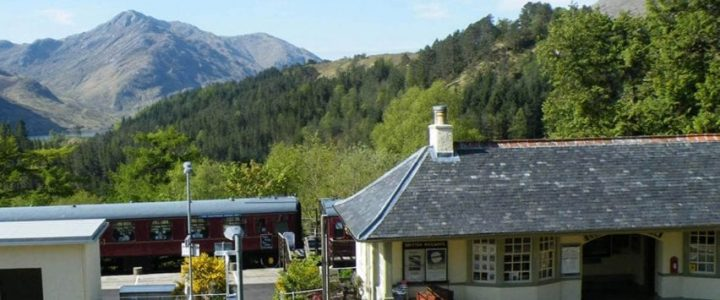 Glenfinnan museum view