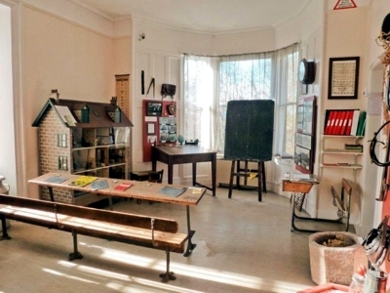 School room at Nairn Museum