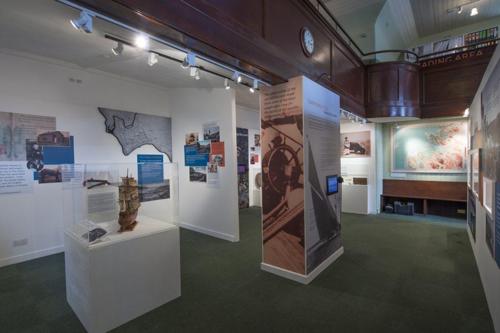Ullapool museum interior